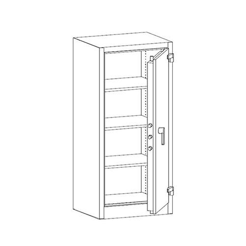 Bezpečnostná a ohňovzdorná skriňa SAM W 1a 1