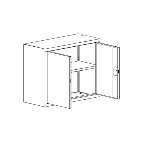 Kancelárska skriňa SBM-802 M nadstavba
